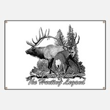 Dad the hunting legend 3 Banner