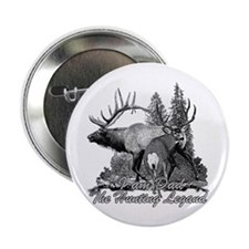 """Dad the hunting legend 3 2.25"""" Button"""
