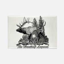 Dad the hunting legend 3 Rectangle Magnet