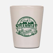 Steamboat Old Circle 3 Shot Glass
