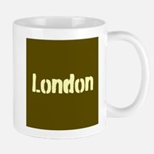 London (Khaki/yellow) Mug