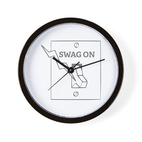 Swag On Wall Clock