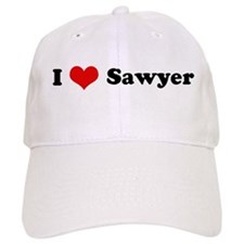 I Love Sawyer Baseball Cap