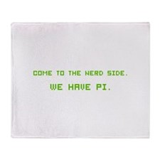 We have Pi Throw Blanket