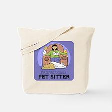 Professional Pet Sitter Tote Bag