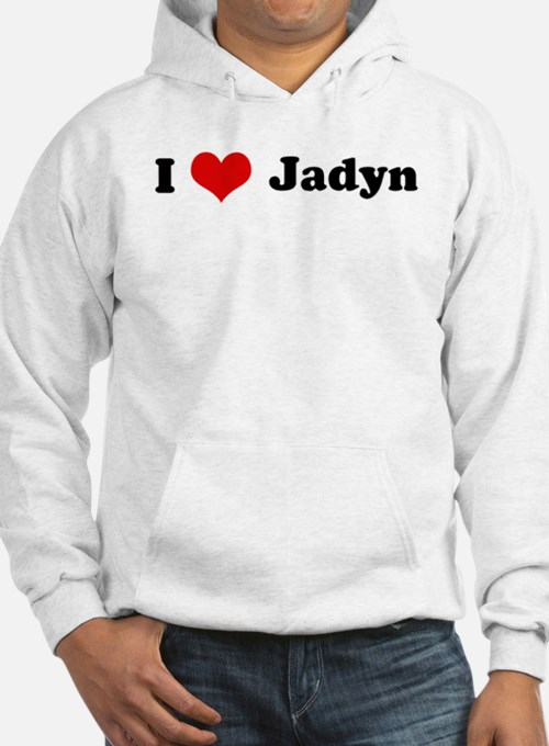 I Love Jadyn Jumper Hoody