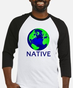 Cool Save the planet Baseball Jersey