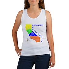 Geocache California Women's Tank Top