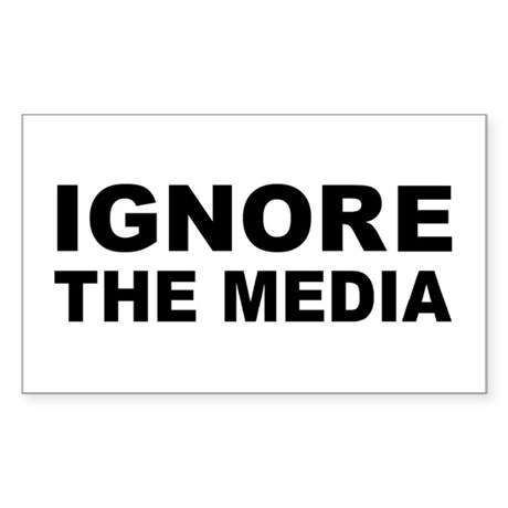 Ignore the media Sticker (Rectangle)