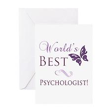 World's Best Psychologist Greeting Card