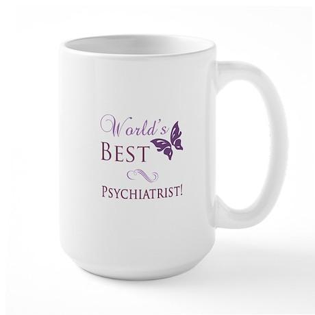 World's Best Psychiatrist Large Mug