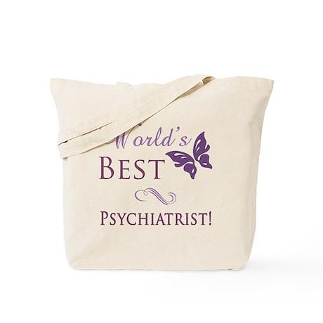 World's Best Psychiatrist Tote Bag