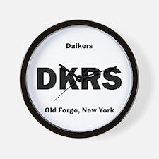 Daikers Euro Wall Clock