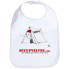 Cute Occupy north pole Bib