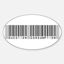 Question Consumption Sticker (Oval)