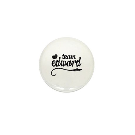 Team Edward Mini Button