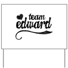 Team Edward Yard Sign