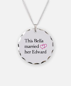This Bella married her Edward Necklace