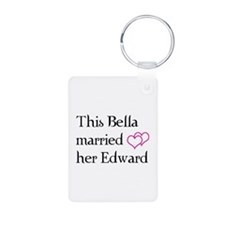 This Bella married her Edward Keychains