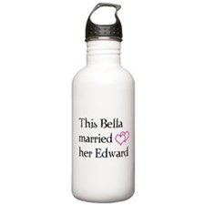 This Bella married her Edward Water Bottle