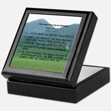 Cherokee Lord's Prayer Keepsake Box