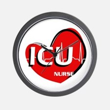 ICU NURSE Wall Clock