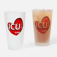 ICU NURSE Drinking Glass