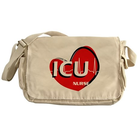ICU NURSE Messenger Bag