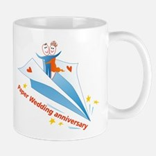 On Paper Plane Mug