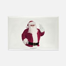 Merry Christmas - Dark Rectangle Magnet