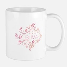 Muslimah Pink Floral Items & Small Small Mug