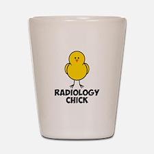 Radiology Chick Shot Glass