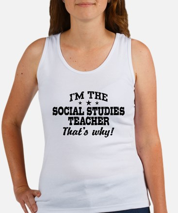 Social Studies Teacher Women's Tank Top