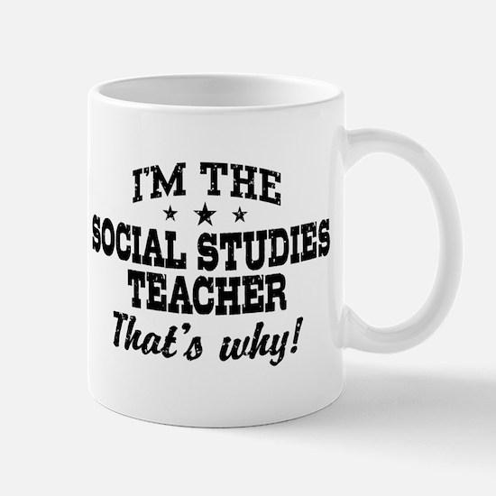 Social Studies Teacher Mug
