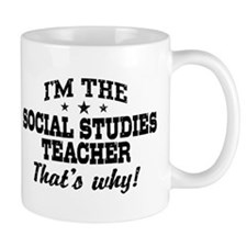 Social Studies Teacher Mug