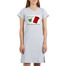 In The Hole Women's Nightshirt