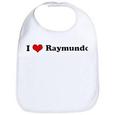 I Love Raymundo Bib