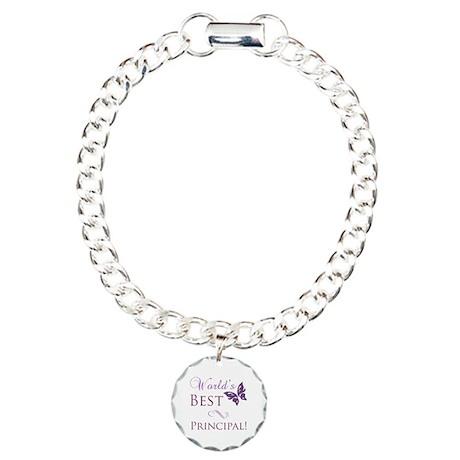 World's Best Principal Charm Bracelet, One Charm