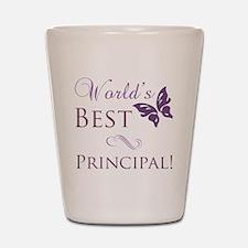 World's Best Principal Shot Glass