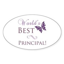 World's Best Principal Decal