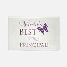World's Best Principal Rectangle Magnet (100 pack)