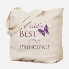 World's Best Principal Tote Bag