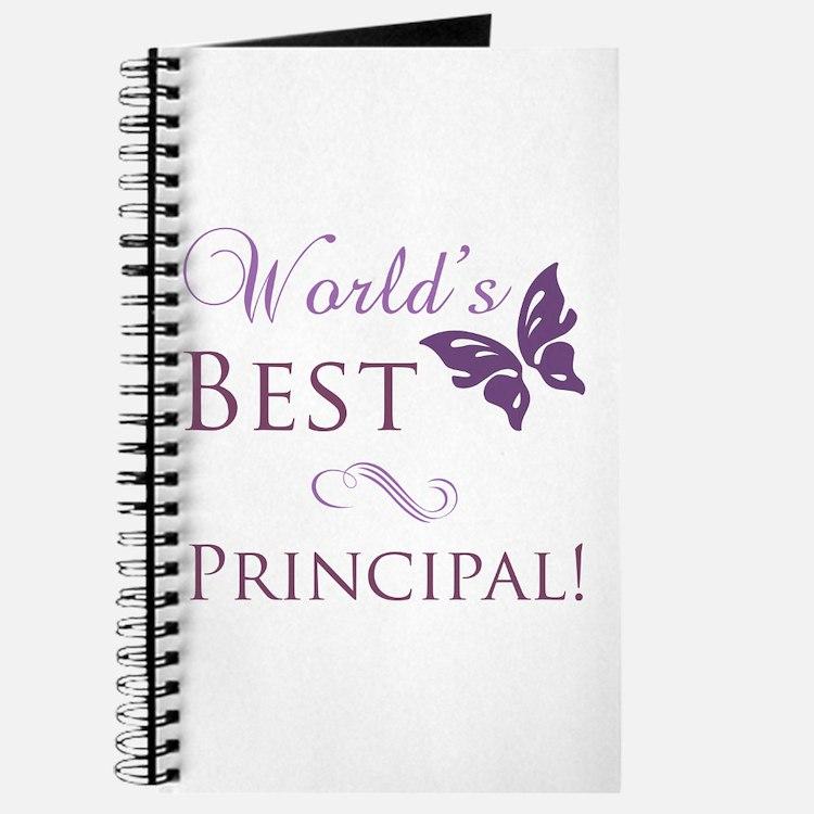 World's Best Principal Journal