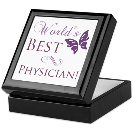 World's Best Physician Keepsake Box