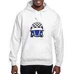 Little Blue Car Hooded Sweatshirt