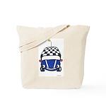 Little Blue Car Tote Bag
