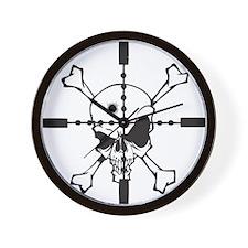 Crosshairs Wall Clock