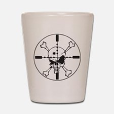 Crosshairs Shot Glass
