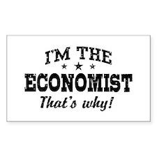 Economist Decal