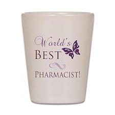 World's Best Pharmacist Shot Glass